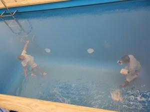 "Leandro Erlich (1973), ""Swimming Pool"", 2011. Foto fra utstillingen Siri Wolland."