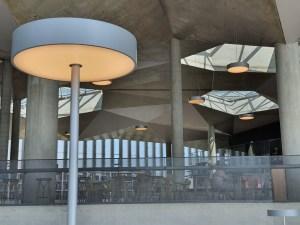 Lyset er fantastisk i Deichman Bjørvika, av arkitektene Lund Hagem og Atelier Oslo, 2020. Foto Siri Wolland.