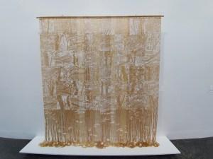 """Anne Stabell, """"Sommerskog"""", 2018. Foto fra utstillingen Siri Wolland."""