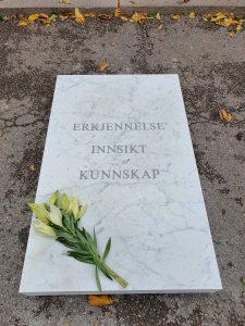 "Hanan Benammars, ""Erkjennels, innsikt, kunnskap"". Foto Siri Wolland"