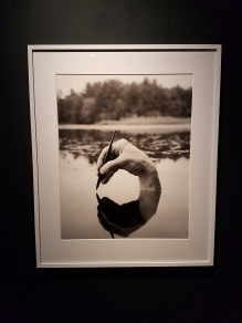 Arno Rafael Minkkinen, Fosters Pond (pen), 2000. Foto fra utstillingen; Siri Wolland