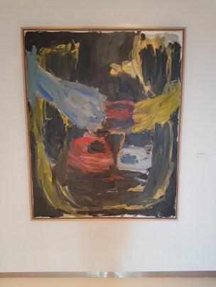 Georg Baselitz. To hender foran ansiktet. 1985. Foto fra utstillingen: Siri Wolland