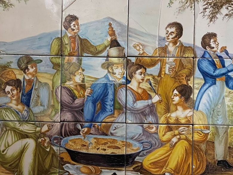 Imagen de la conferencia historia arroz y paella.