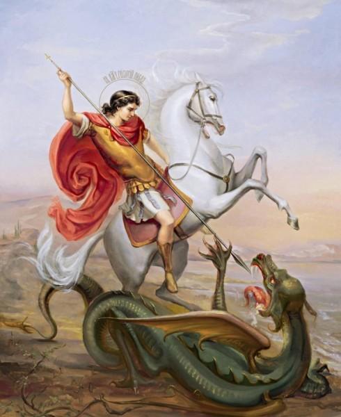 Legendele Sfantului Gheorghe – cum l-a invins pe balaur