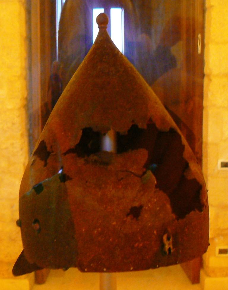 Elmo ottomano del Museo di Muro Leccese