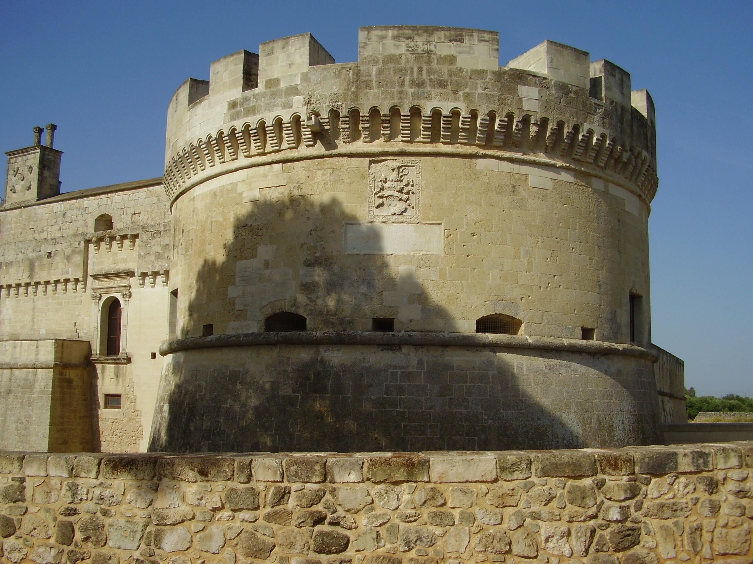 Castello di Acaya - torrione