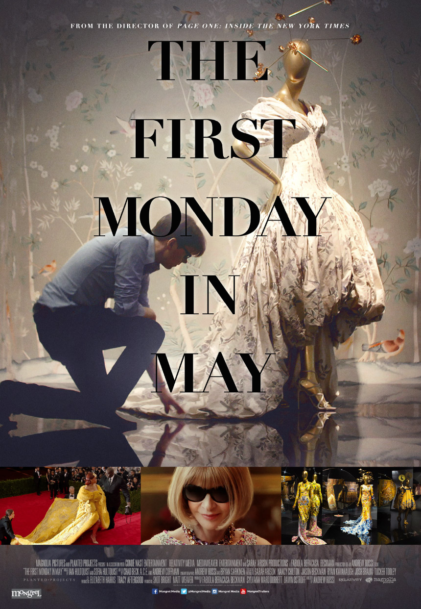 """Cartelera del documental """"First Monday in May"""""""