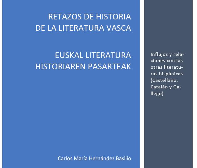 """""""Retazos de la Historia de la Literatura vasca"""""""