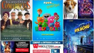 Photo of Cinemacenter: cartelera hasta 22 de mayo