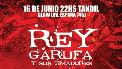 Photo of Rey Garufa y sus Timadores en Glow