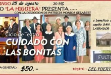 Photo of Cuidado con las Bonitas, Teatro a beneficio