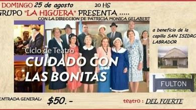 Photo of Cuidado con las Bonitas, Teatro a beneficio