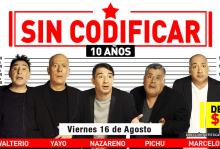 Photo of Sin Codificar 10 Años