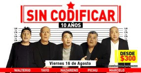 Photo of Sin Codificar 10 Años
