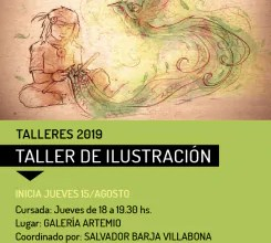 Photo of Taller de Ilustración en Artemio