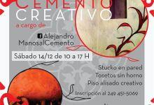 Photo of Curso Cemento Creativo en La Noria