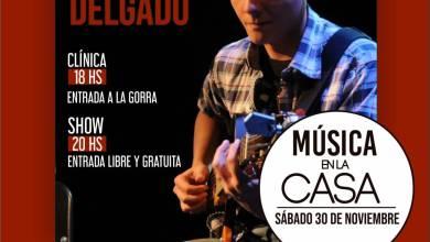 Photo of Mariano Delgado en Música en la Casa