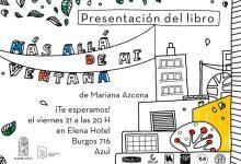 Photo of Presentación del Libro MÁS ALLÁ DE MI VENTANA