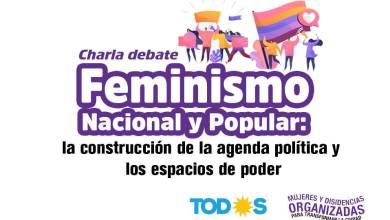 Photo of Feminismo nacional y popular. Charla – debate.