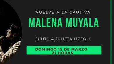 Photo of Malena Muyala a La Cautiva Suspendido