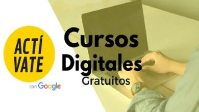 Photo of CURSOS GRATIS DE MARKETING ONLINE OFRECIDOS POR GOOGLE