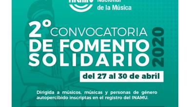 Photo of Segunda convocatoria de fomento solidario 2020