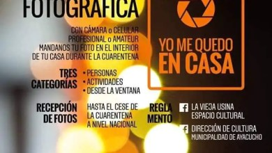 "Photo of CONVOCATORIA FOTOGRÁFICA ""YO ME QUEDO EN CASA"""