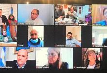 Photo of Videoconferencia de intendentes de la región por la emergencia sanitaria