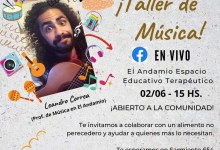 Photo of Taller de Música a beneficio