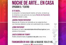 """Photo of """"Noche de Arte… en casa"""" Episodio 5- Teatro"""