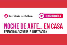 """Photo of """"Noche de Arte… en casa"""" Episodio 6 – Covers e ilustración"""