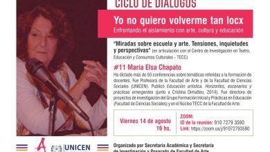 """Photo of Ciclo de diálogos: #11 """"Miradas sobre escuela y arte. Tensiones, inquietudes y perspectivas"""""""