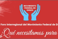 Photo of 1° Foro Interregional del Movimiento Federal de Danza con participación de referentes de la danza y de la cultura en general