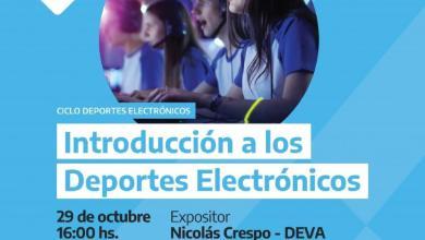 Photo of Videoconferencia sobre deportes electrónicos
