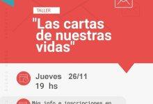 """Photo of Taller virtual """"Las cartas de nuestras vidas"""""""