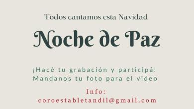 """Photo of TODOS CANTAMOS ESTA NAVIDAD """"NOCHE DE PAZ"""""""