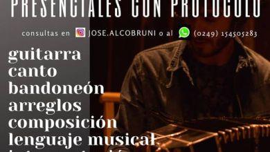 Photo of CLASES DE MÚSICA ONLINE y PRESENCIALES
