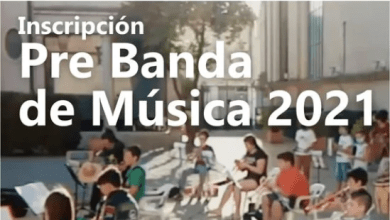 Photo of INSCRIPCIÓN PRE BANDA DE MÚSICA 2021
