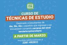 Photo of CURSO DE TÉCNICAS DE ESTUDIO