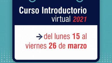 Photo of CURSO VIRTUAL DE INGRESO 2021