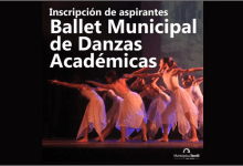 Photo of INSCRIPCIÓN PARA ASPIRANTES A INTEGRAR EL BALLET MUNICIPAL DE DANZAS ACADÉMICAS