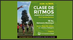 Photo of CLASE ABIERTA DE RITMOS EN EL BALNEARIO MUNICIPAL