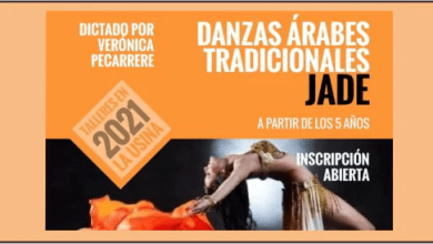 Photo of DANZAS ARABES TRADICIONALES JADE – Súmate ya!!!