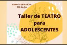 Photo of TALLER DE TEATRO – ADOLECENTES!!!