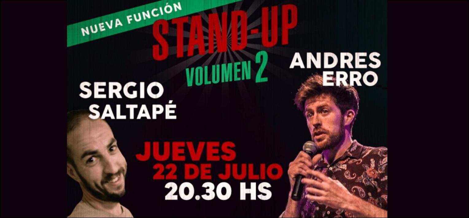 STAND UP VOLUMEN 2 EN MACANUDO