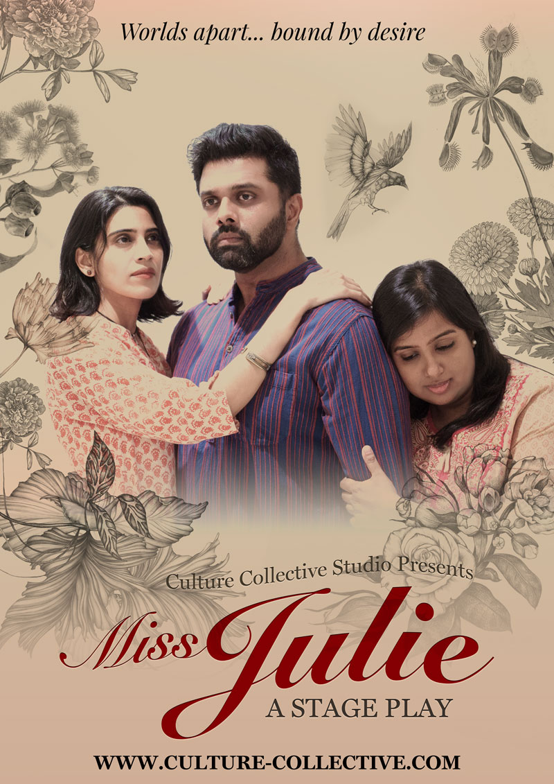 Miss Julie - CULTURE COLLECTIVE STUDIO - A Professional English Language Theatre in Bangkok, Thailand