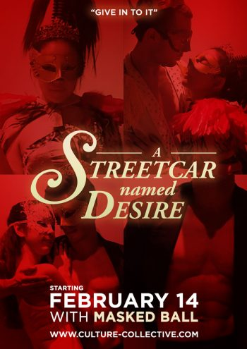 A Streetcar Named Desire - CULTURE COLLECTIVE STUDIO - A Professional English Language Theatre in Bangkok, Thailand