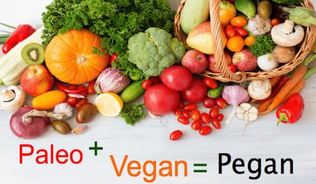 Paleo plus vegan égale pegan