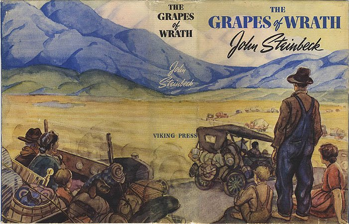 Les raisins de la colère John Steinbeck