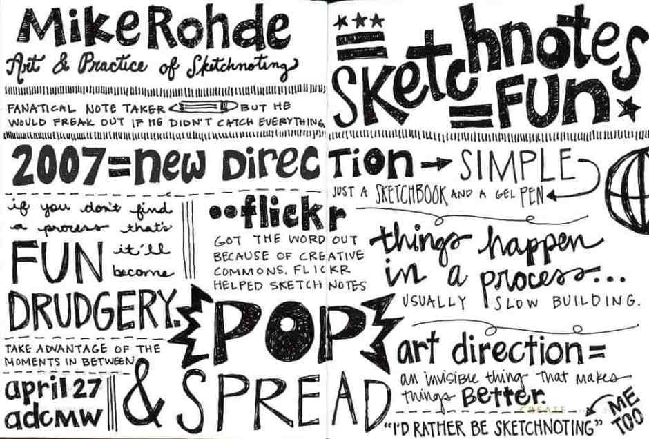 sketch note